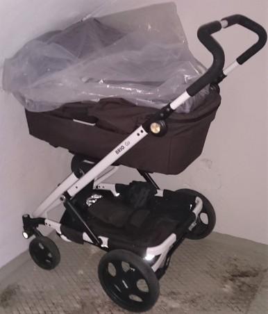Begagnad Brio Go barnvagn redo att användas