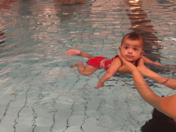 Gillar att babysimma